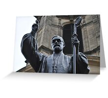 Charles Gore, Statue  Greeting Card