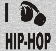 I love Hip-Hop Kids Tee