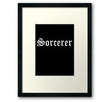 Sorcerer Framed Print