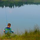 Fishing Takes Patience by MaeBelle