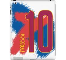 Messi Brush Strokes iPad Case/Skin
