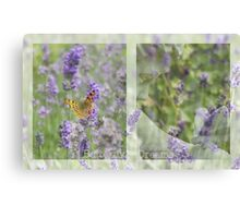 Butterfly Dreams - JUSTART © Canvas Print