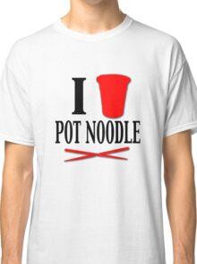 I <Heart> Pot Noodle Classic T-Shirt