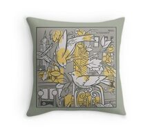 It's Nice To Be Home Throw Pillow