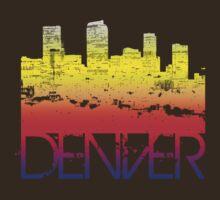Denver Skyline T-shirt design T-Shirt