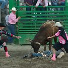 Rodeo Clowns by lincolngraham