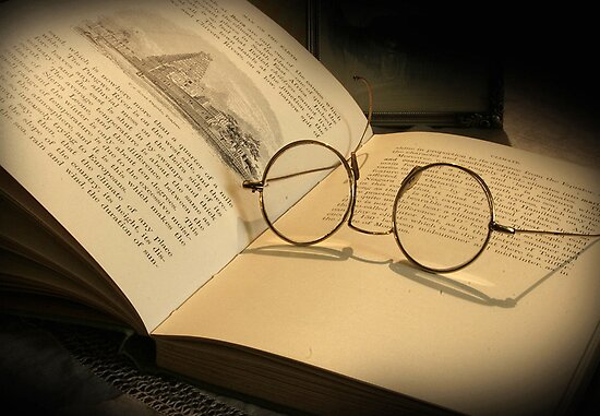 Once upon a time... (Old Book &amp; Glasses) Free State, South Africa by Qnita