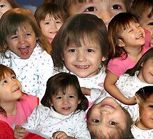 """""""World of Smiles"""" -- My Granddaughter by John Carpenter"""