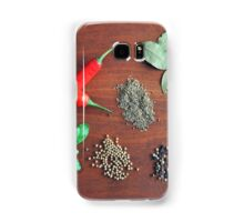 Herbs and Spices Samsung Galaxy Case/Skin