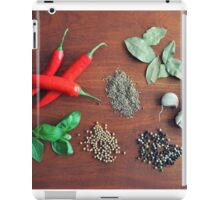 Herbs and Spices iPad Case/Skin