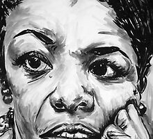 """Phenomenal Woman"" by patricksmithart"
