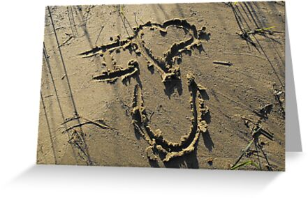 Message In The Sand by Tracy Faught