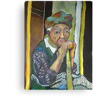 Honorable Elder Canvas Print