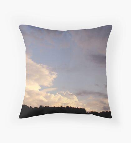 Cloud Clash Throw Pillow