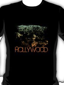 Hollywood Skyline T-shirt Design T-Shirt