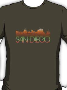 San Diego Skyline T-shirt Design T-Shirt