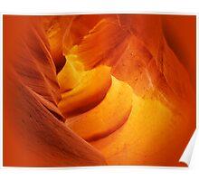 Sculpture in orange Poster