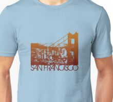 San Francisco Skyline T-shirt Design Unisex T-Shirt