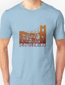 San Francisco Skyline T-shirt Design T-Shirt