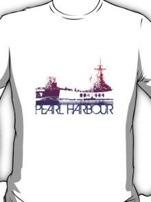 Pearl Harbour Skyline T-shirt Design T-Shirt