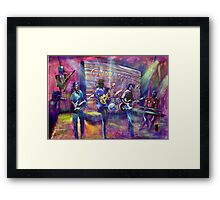 GYMPIE MUSTER- COLLECTION - CROWBAR - AUGIE MARCH Framed Print