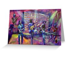 GYMPIE MUSTER- COLLECTION - CROWBAR - AUGIE MARCH Greeting Card