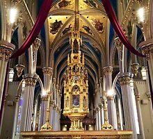 University of Notre Dame Basilica by laureneoneil