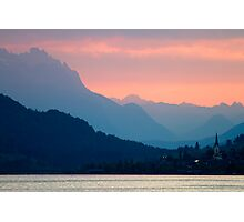Evening Colors Photographic Print