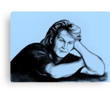Patrick Swayze : just taking a break Canvas Print