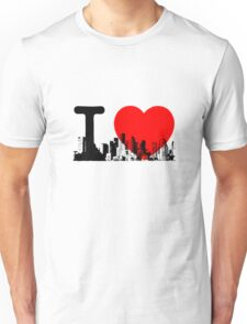 I Heart New York Skyline Unisex T-Shirt