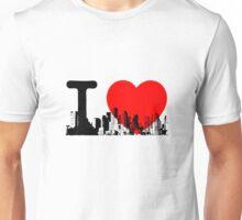 I Heart New York Skyline Unisex T-Shirt