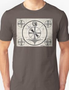 Retro TV Monoscope Test Pattern T-Shirt