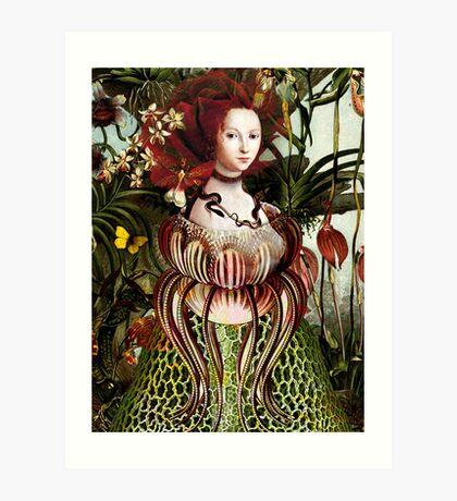 Miss Eve Art Print