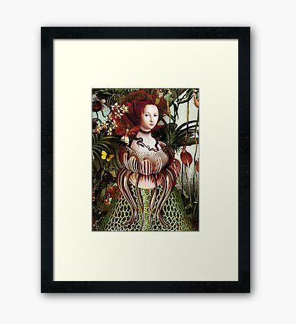Miss Eve Framed Print