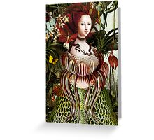 Miss Eve Greeting Card