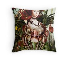 Miss Eve Throw Pillow