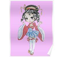Chibi Geisha  Poster