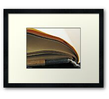 The Pages of Time Framed Print