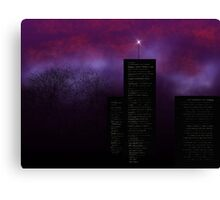 Mystery Night Canvas Print