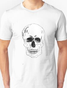 Pen and Ink Skull T-Shirt