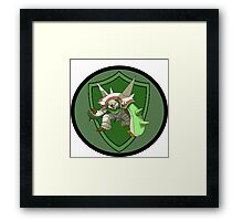 Chestnaught - The Spiky Armour Pokemon Framed Print