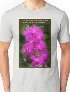 Orchid Beauty Unisex T-Shirt