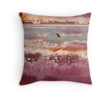 Twilight at Lupin Pond Throw Pillow