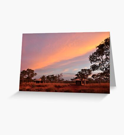 remote camping Greeting Card