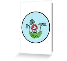 Simple Florges For Kids Greeting Card