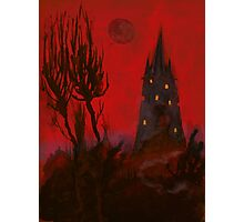 Nightmare Whispers Tower Photographic Print