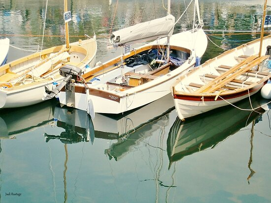 Three Little Boats by Judi Rustage