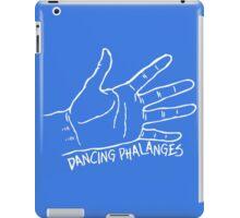 Dancing Phalanges in white iPad Case/Skin