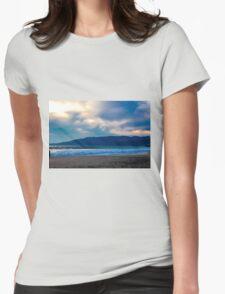 Beach Sunset Womens Fitted T-Shirt