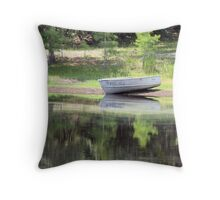 simple sport Throw Pillow